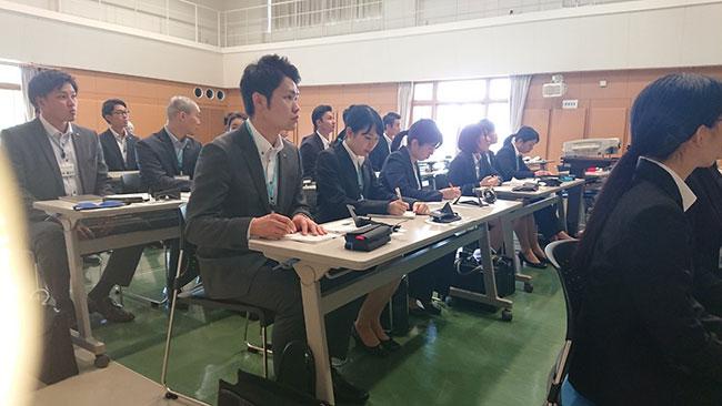 2018年6月4日ワタキューセイモア株式会社様ご来館型研修のご様子